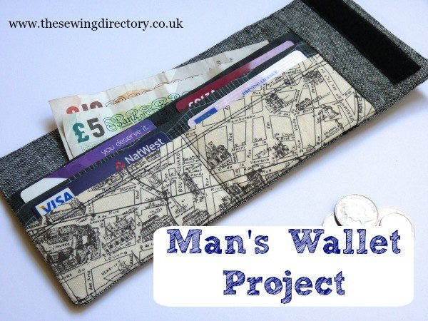 mens wallet sewing tutorial