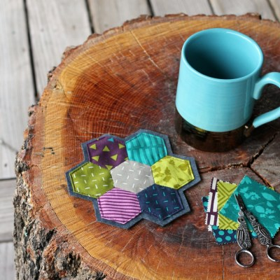 How to Make an EPP Hexagon Coaster