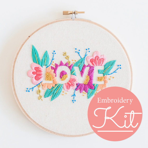 The Best Modern Embroidery Kits For Beginners Swoodson Says