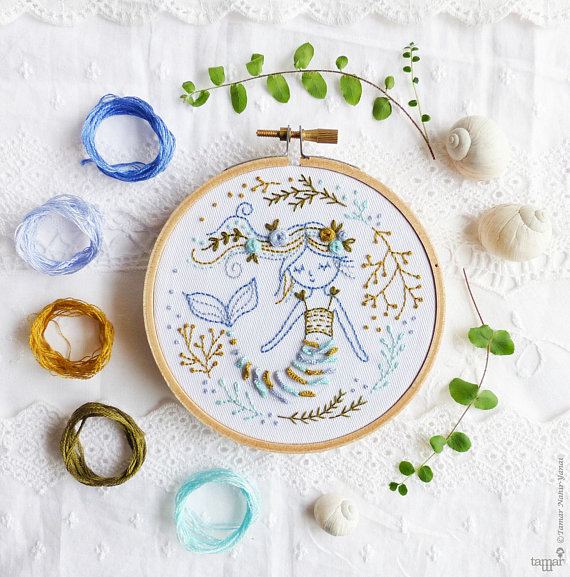 the best modern embroidery kits for beginners