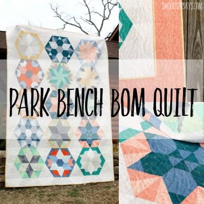 Jaybird Quilts Park Bench BOM Quilt