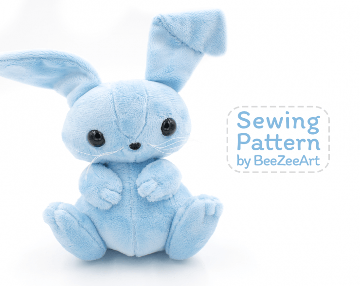 60 Stuffed Bunny Sewing Patterns Swoodson Says Awesome Bunny Pattern