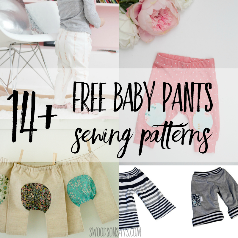 40 Free Baby Pants Sewing Patterns Swoodson Says Custom Baby Patterns