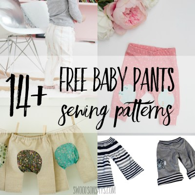 14+ Free baby pants sewing patterns
