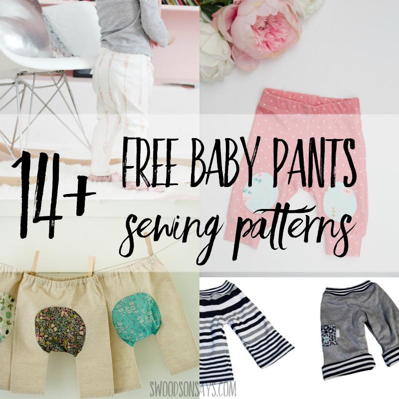 14+ Free baby pants sewing patterns