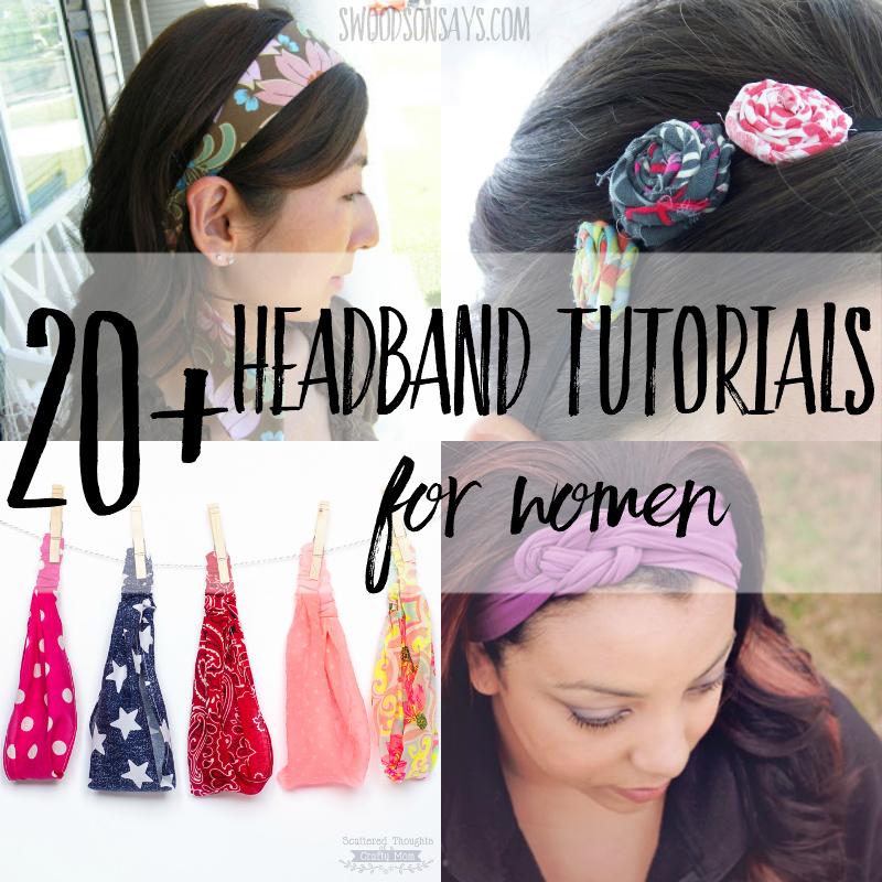 headband pattern options for women