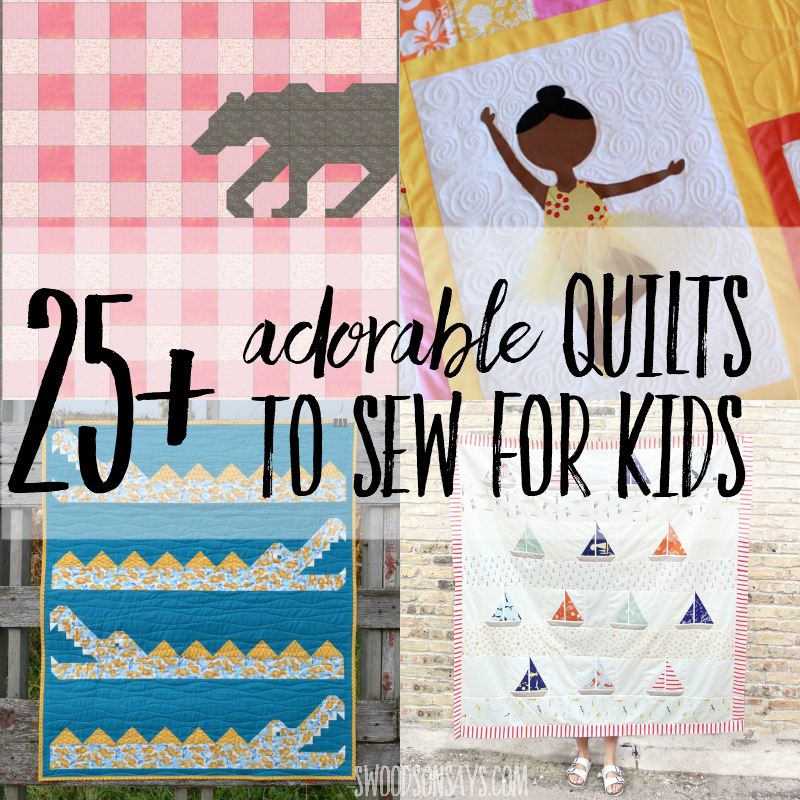 quilts to sew for kids