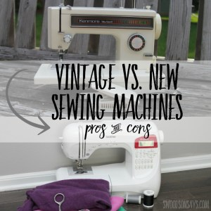Why I ditched my vintage sewing machine for a new one