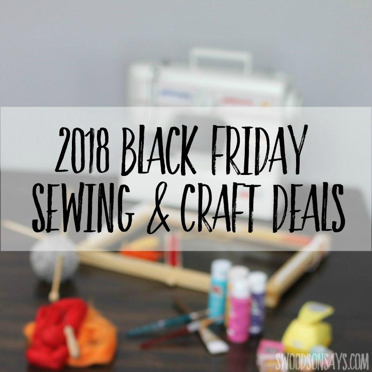 sewing machine black friday deals 2018