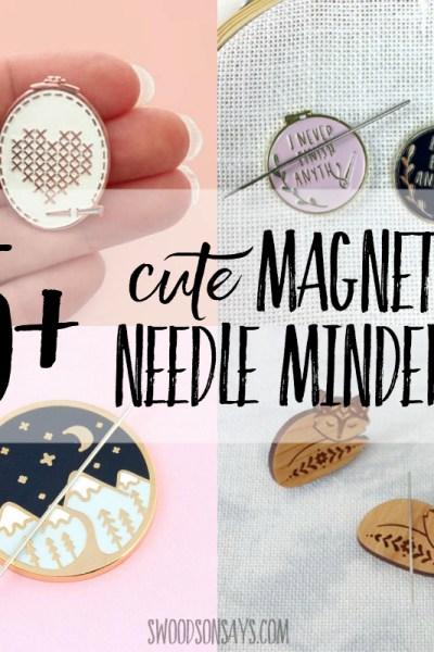 magnetic needle holder ideas