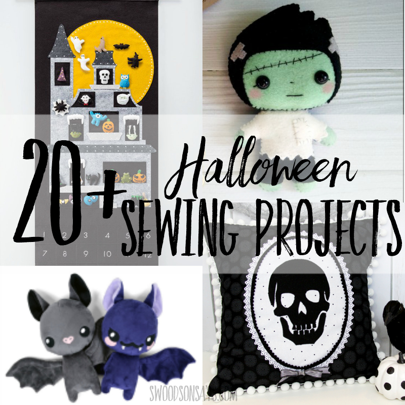 20+ Halloween sewing projects