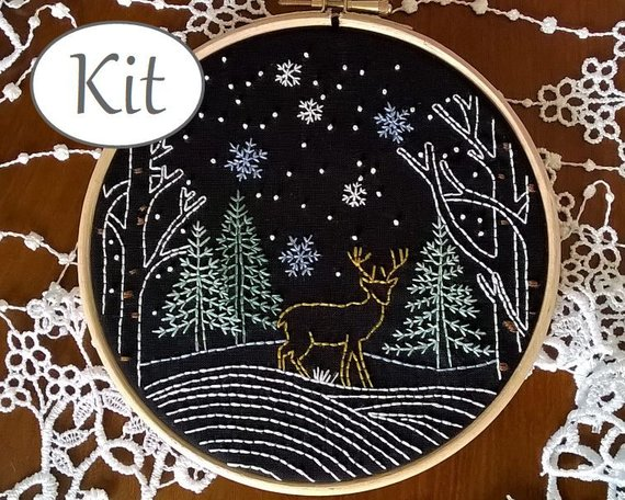 13 winter hand embroidery patterns swoodson says