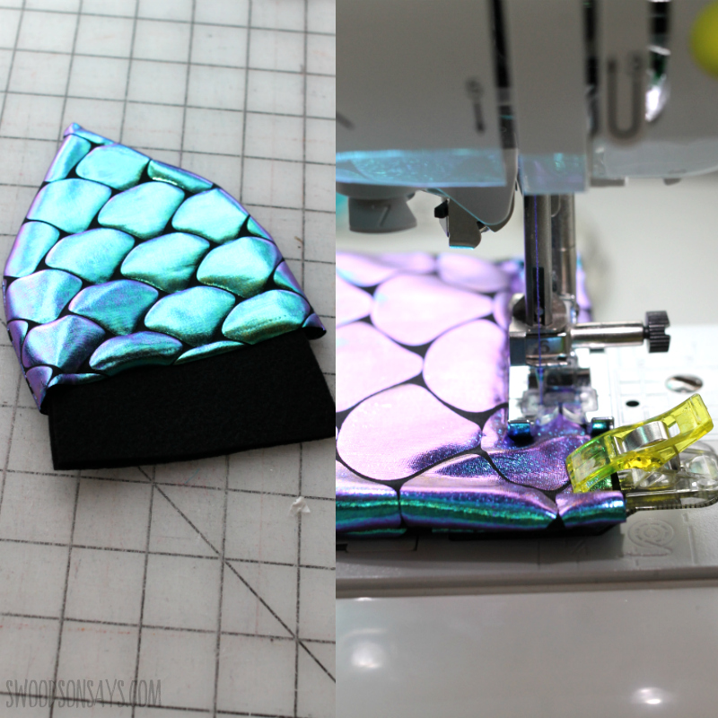 how to make fabric spikes