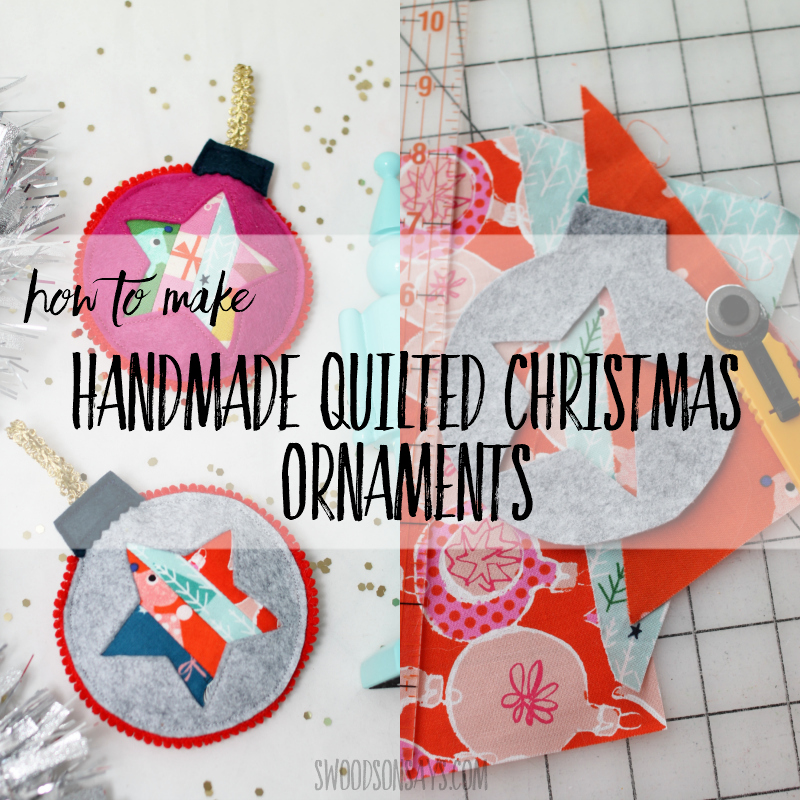 How To Make Handmade Quilted Christmas Ornaments Swoodson Says
