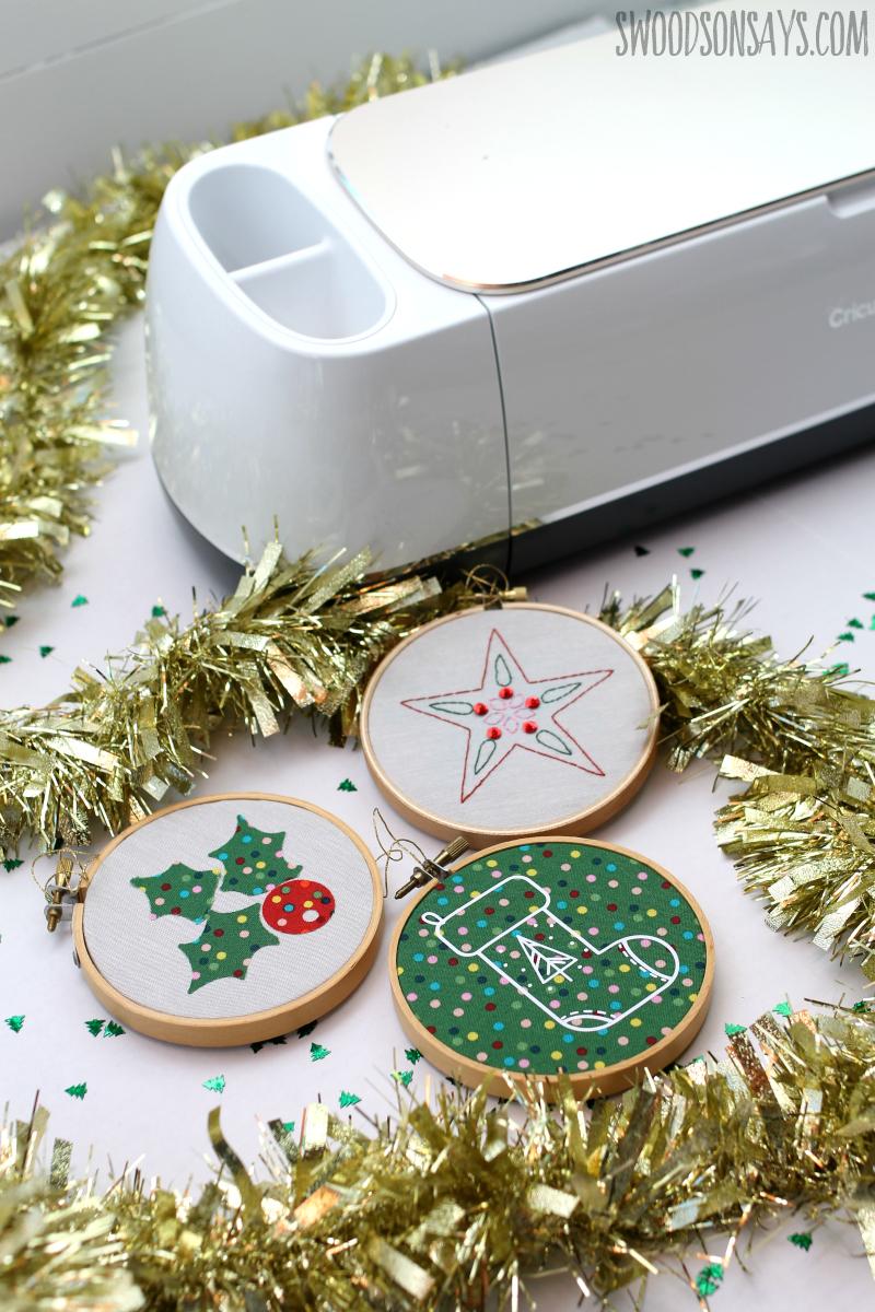 Easy Cricut Christmas Decorations Swoodson Says