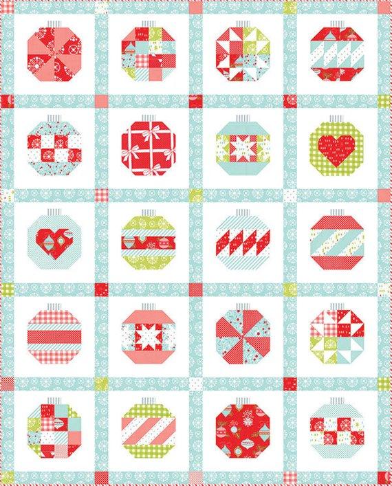 christmas quilt kit