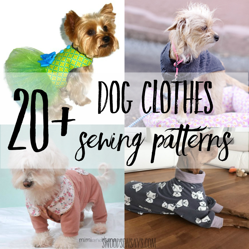 Cutest Paid Free Printable Dog Clothes Patterns Swoodson Says Inspiration Free Dog Clothes Sewing Patterns Online