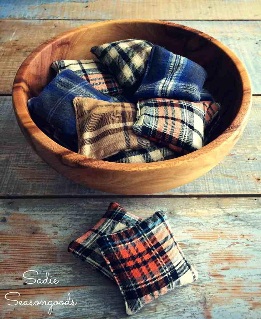 flannel hand warmers tutorial