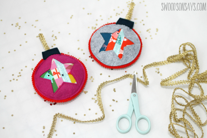 scrappy christmas ornament tutorial