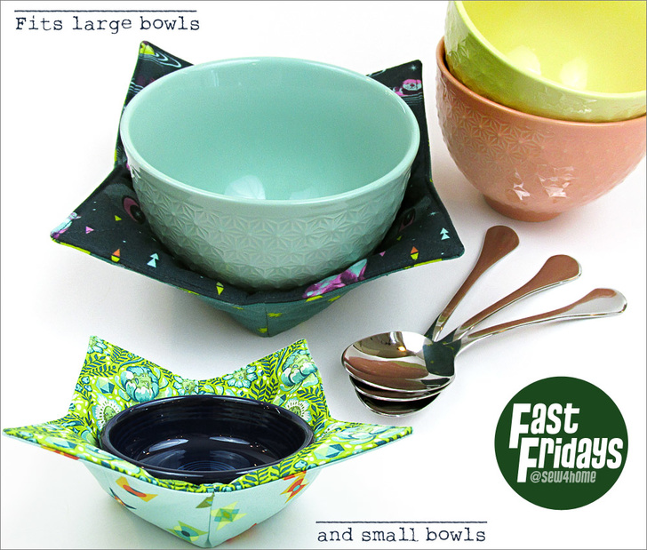 soup bowl cozy tutorial