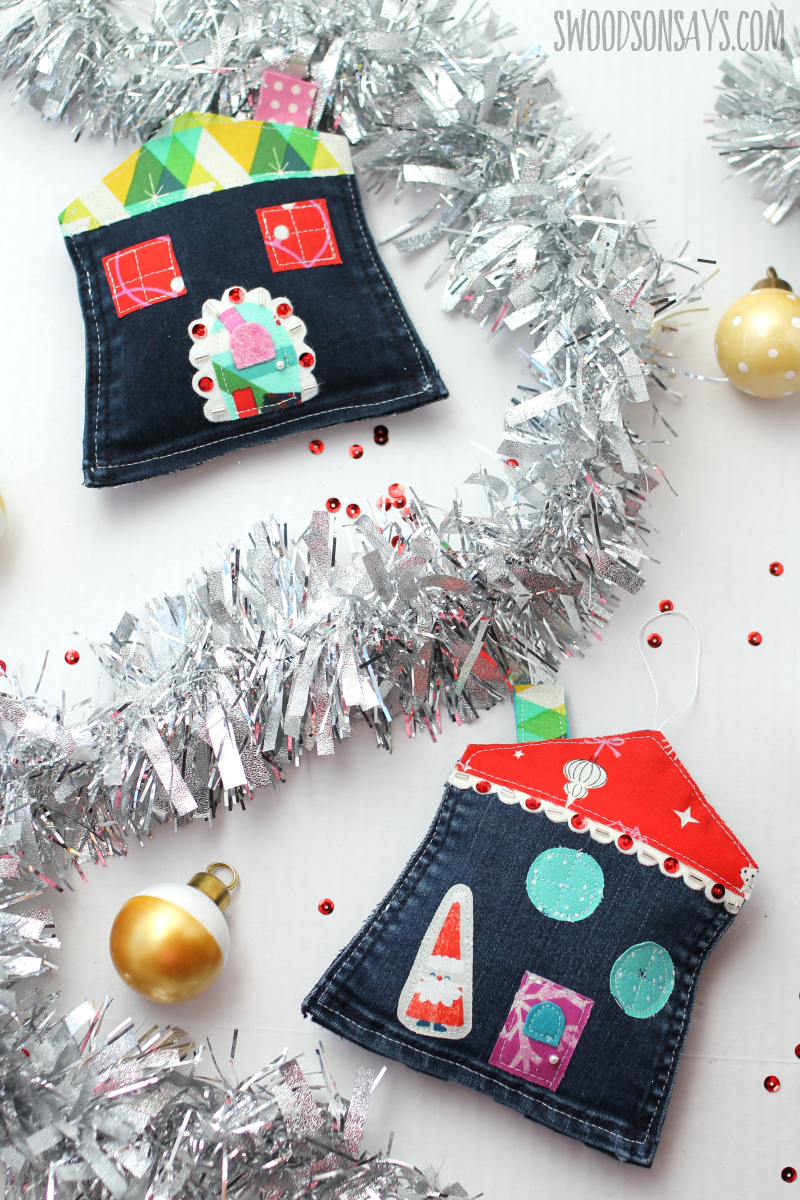 thrifty christmas ornament tutorial recycle