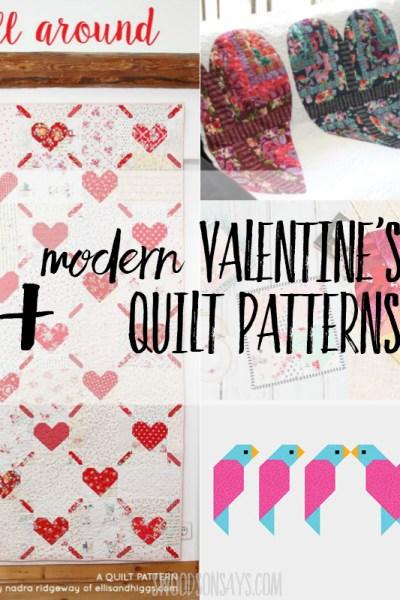 Valentine quilt patterns