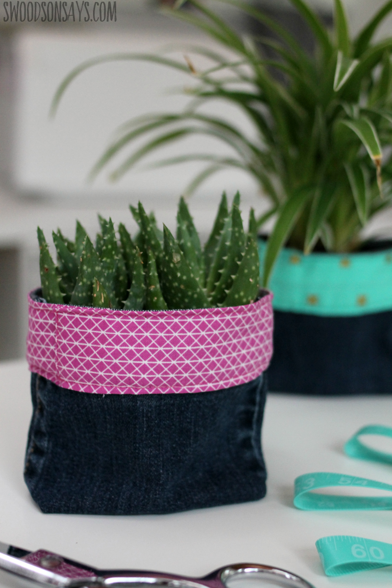 how to sew a plant cozy