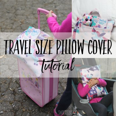 travel size pillow cover