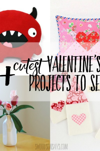 15+ cutest Valentine's Day Projects to Sew