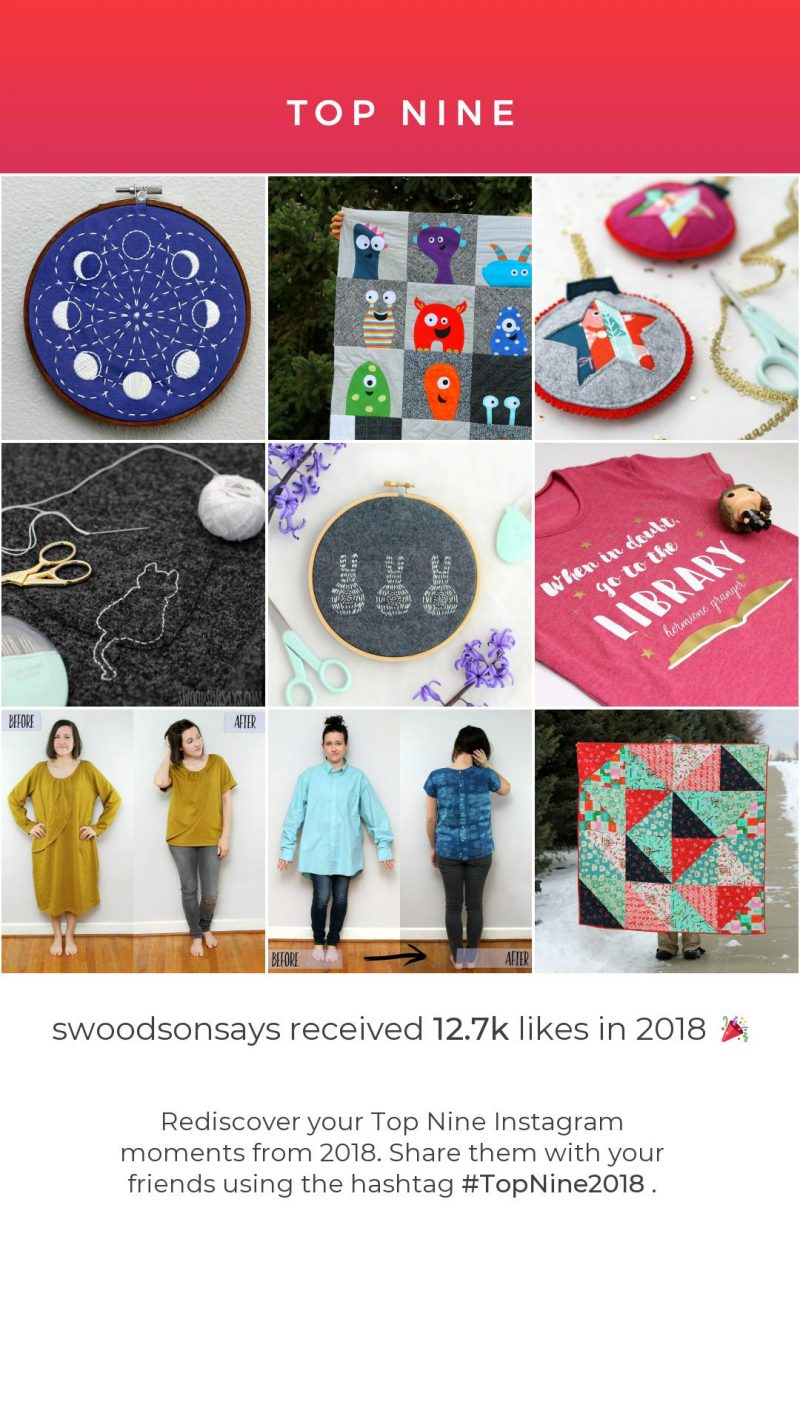 sewing instagram blogger