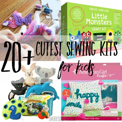 cute sewing kits for kids