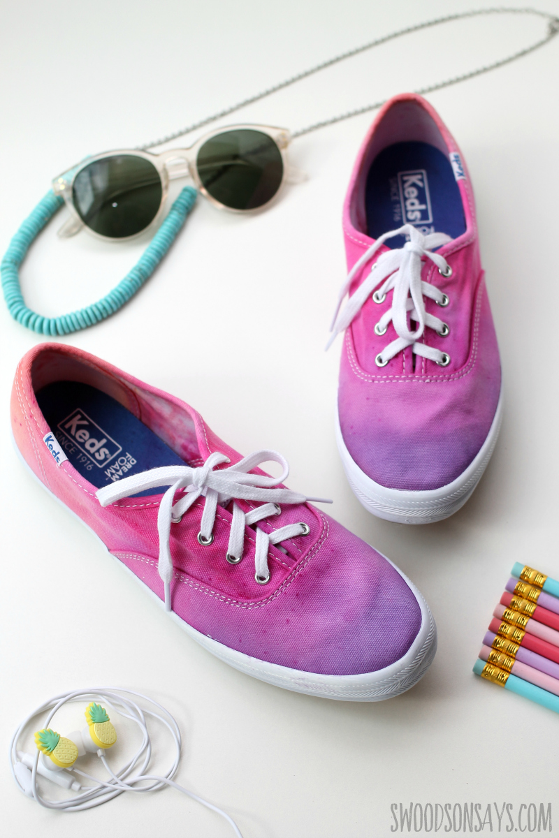 summer shoe craft