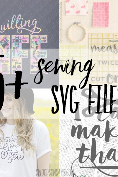 15+ fun sewing svg files