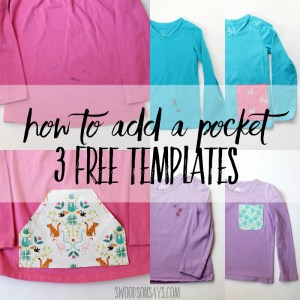 how to add a pocket sewing tutorial