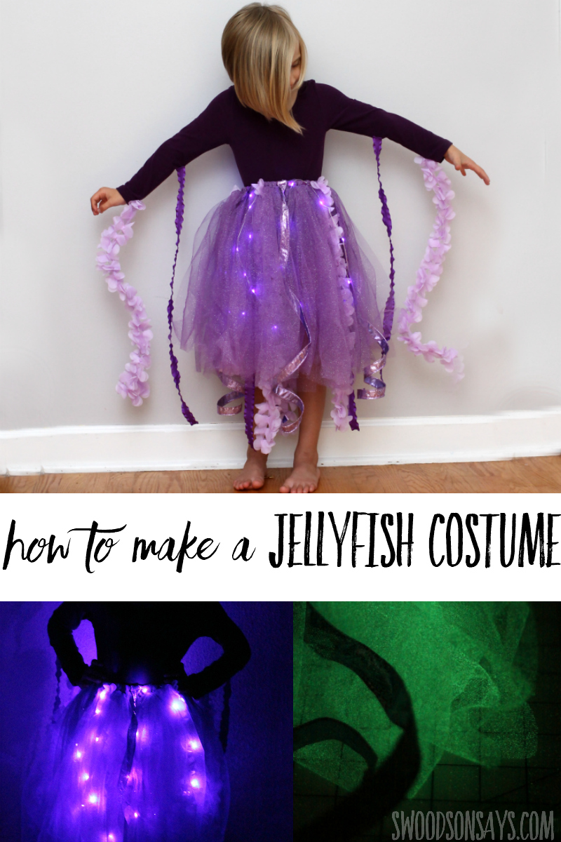 jellyfish tutu costume tutorial