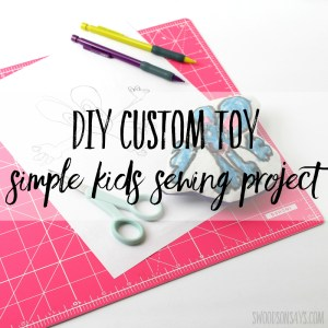 DIY Plush Toy - simple sewing project for kids