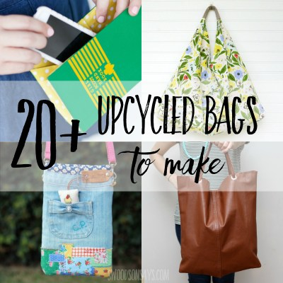 20+ upcycled purse tutorials