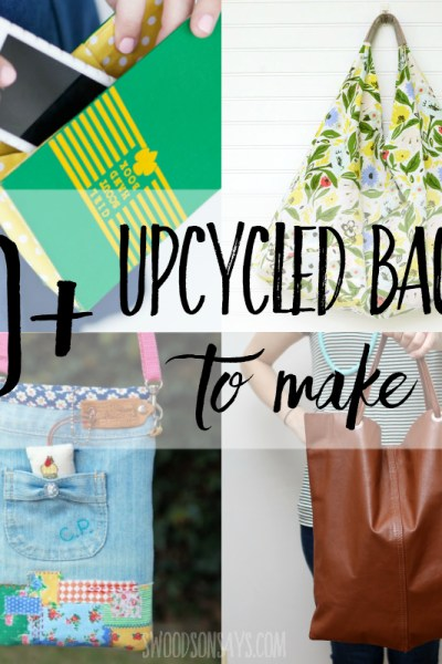 20+ upcycled purse tutorials