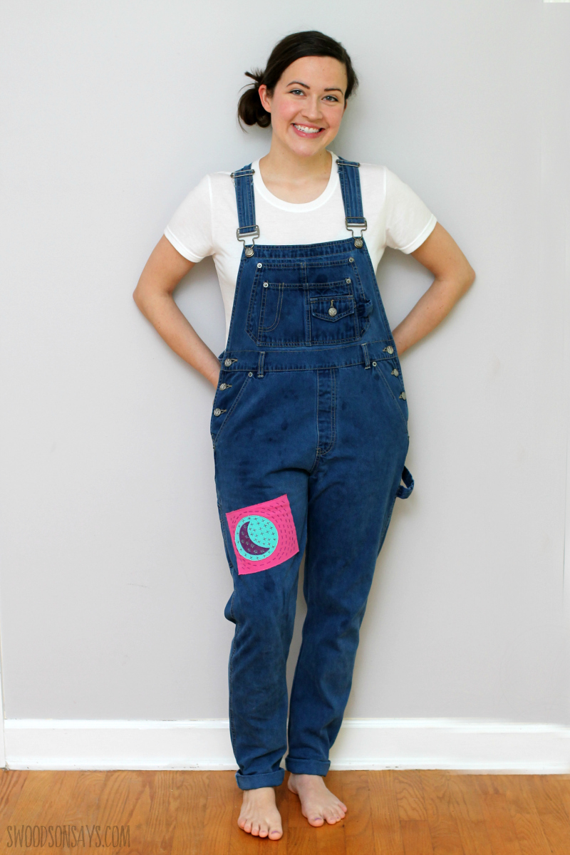 refashioned overalls sewing tutorial
