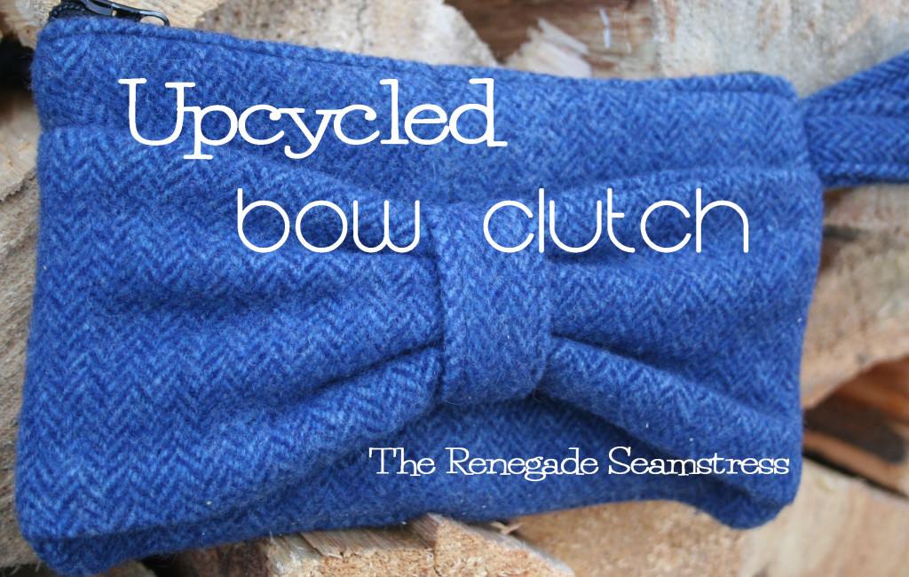 wool purse clutch tutorial