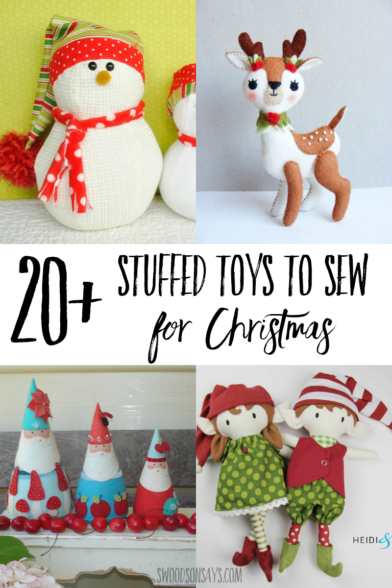 christmas toy sewing patterns