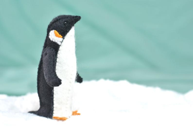 stuffed penguin pattern
