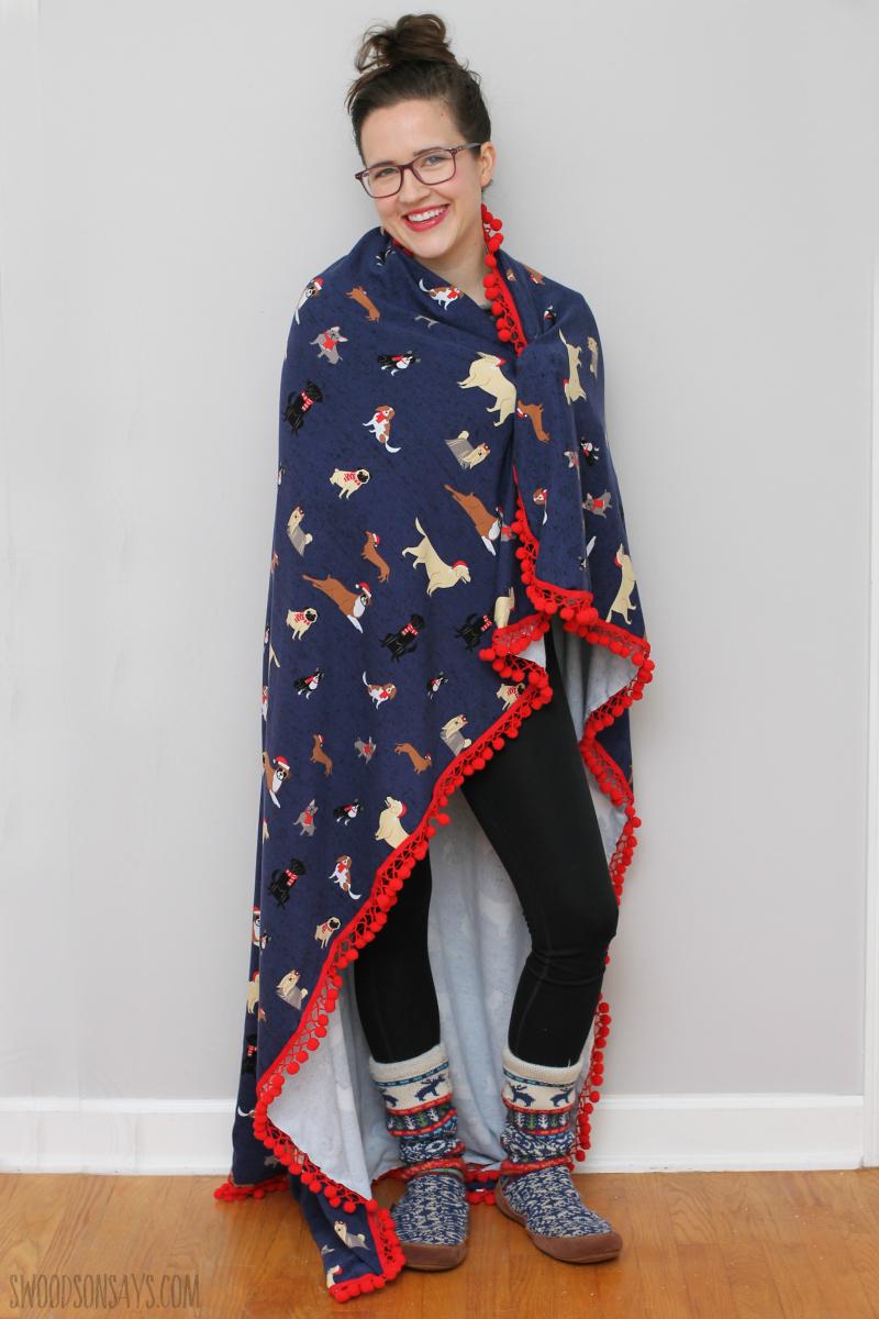 easy diy blanket