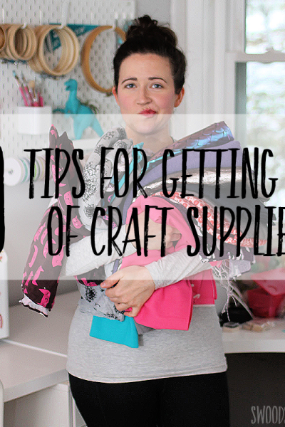 10 tips for getting rid of craft supplies (and ideas for where to send them!)
