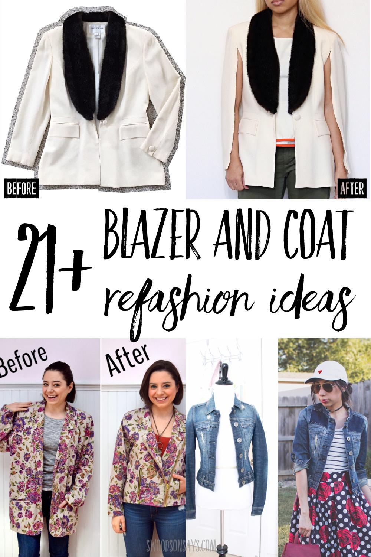 coat and suit refashion ideas