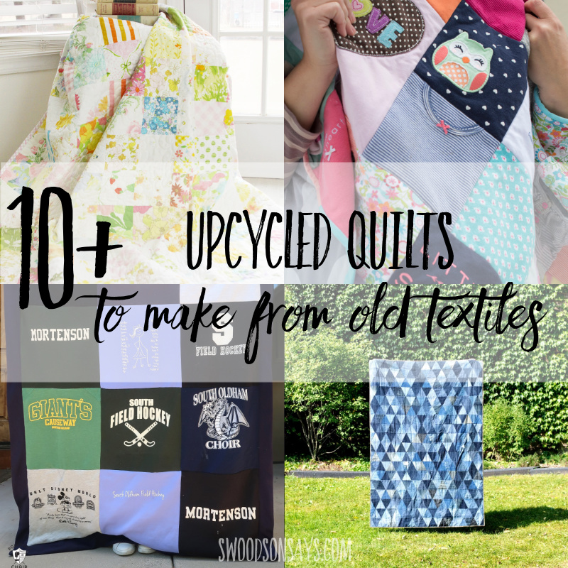 How to make a quilt from old clothes – 10+ ideas
