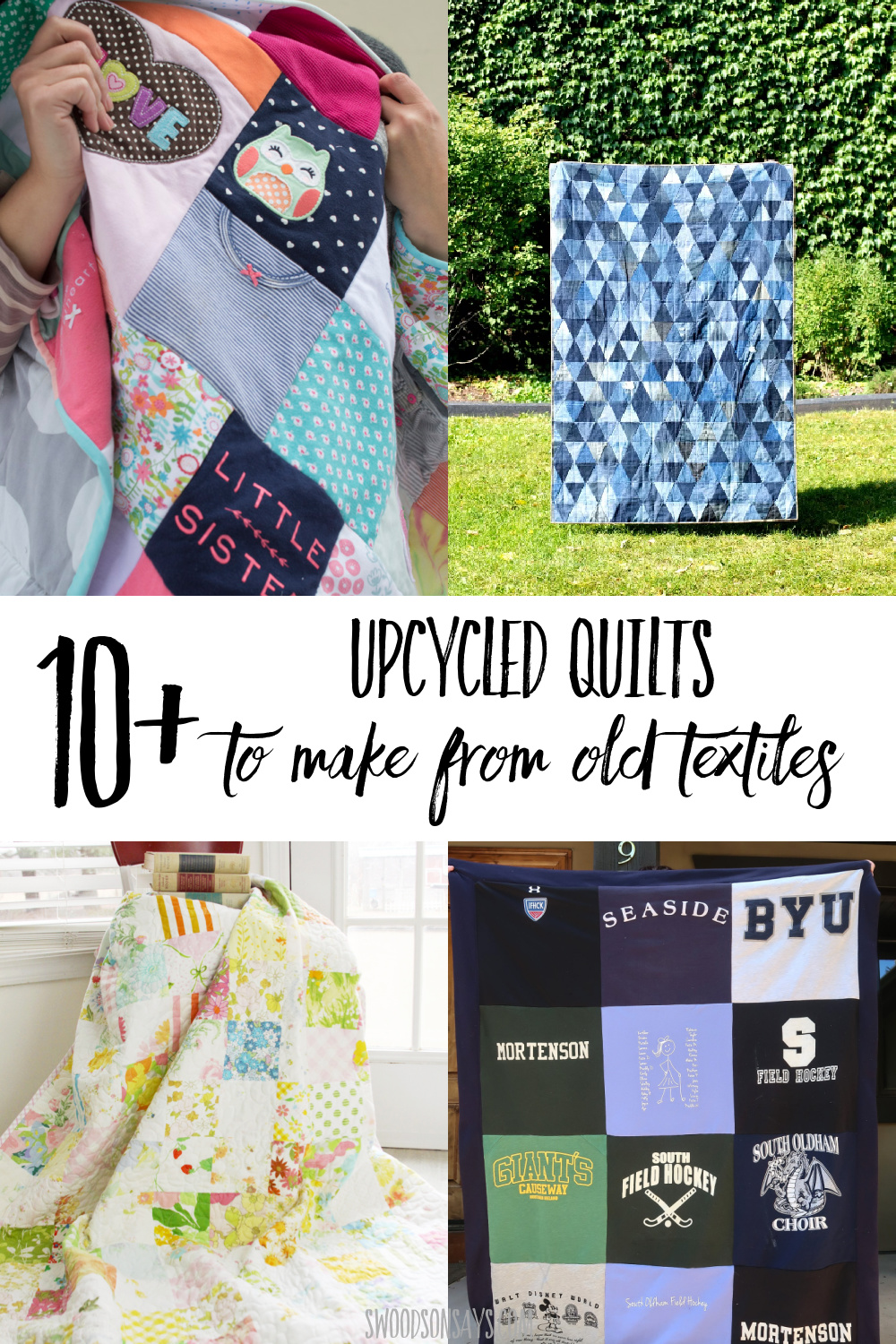 upcycled quilt tutorials