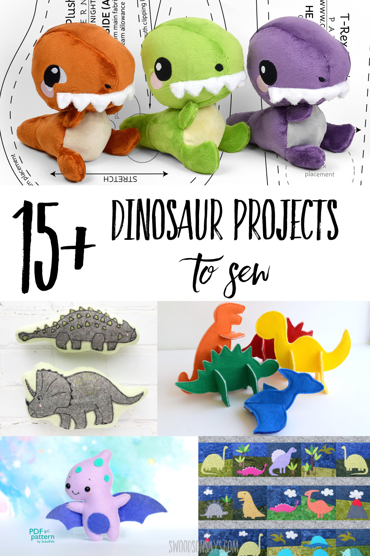 dinosaur sewing tutorials