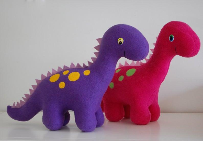 long neck dinosaur stuffie pattern