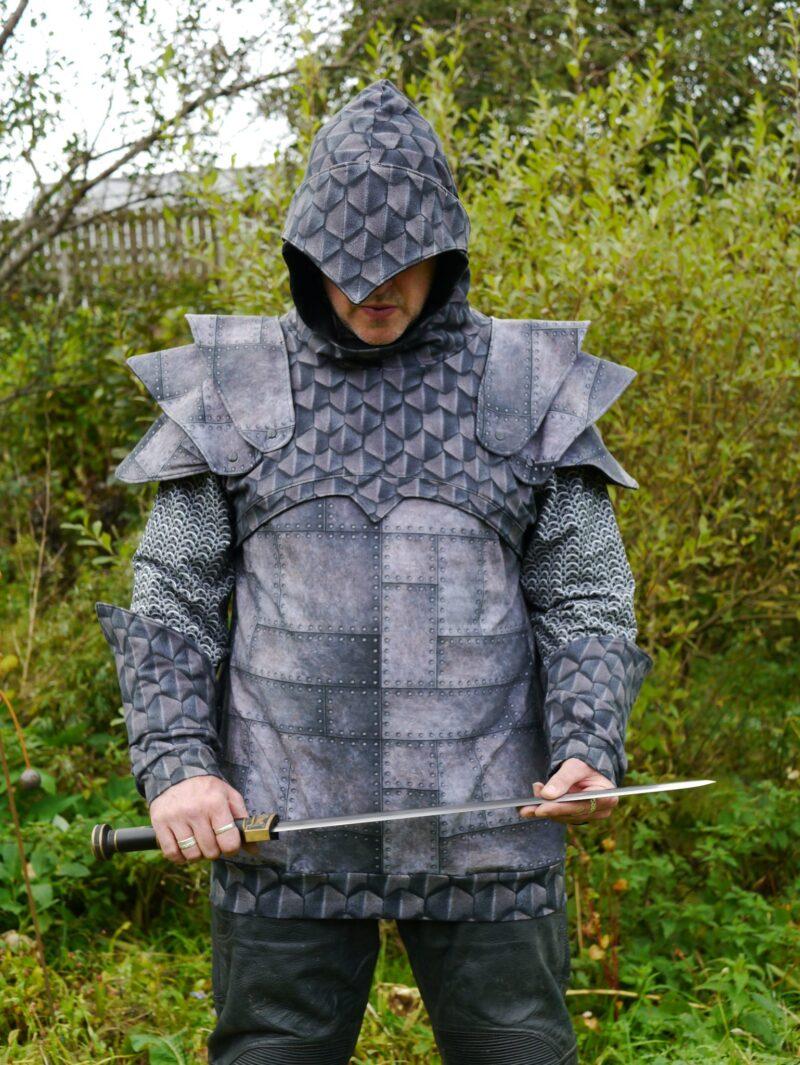 knight hoodie pdf pattern